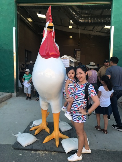 ... because you gotta have a photo with the chicken, right?