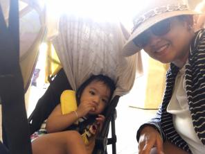 Kerrigan and her powerhouse Ninang Gie!