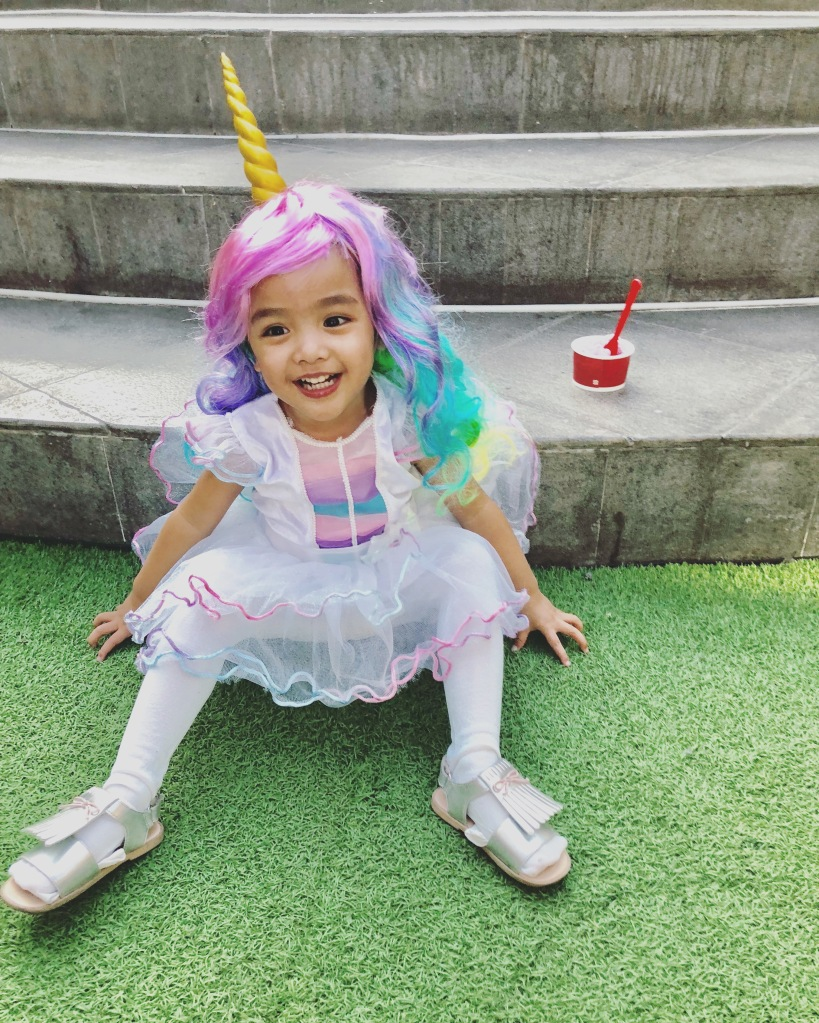 unicorn ballerina toddler