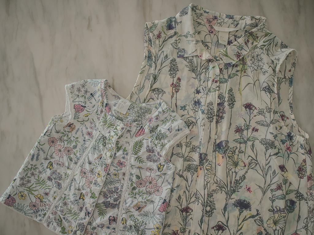H&M Floral Print Blouse