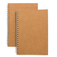 Unlined Spiral Notebook