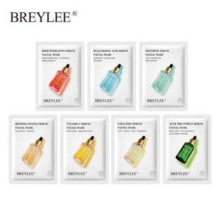 BREYLEE Facial Sheet Mask Acne Treatment Soothing Whitening Moisturizing Skincare 1PC